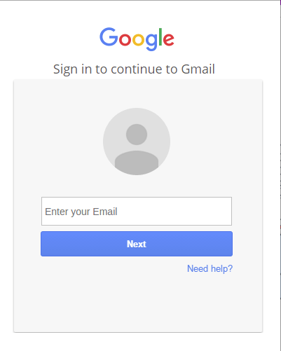 Fake Gmail login page will steal your username and password